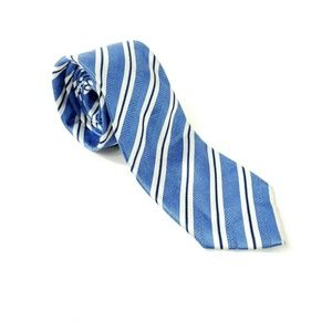 Hathaway Formal Office Striped 100% Silk Neck Tie
